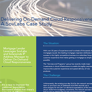 Delivering On-Demand Cloud Responsiveness: A SovLabs Case Study