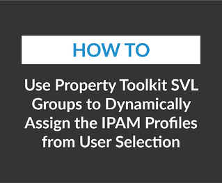 Use Property Toolkit Svl Groups to Dynamically Assign the Ipam Profiles from User Selection-01