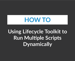 Using Lifecycle Toolkit to Run Multiple Scripts Dynamically