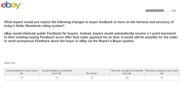 Changes To The Ebay Feedback System
