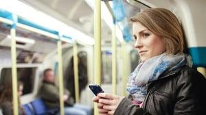 Situationally aware Subway passenger