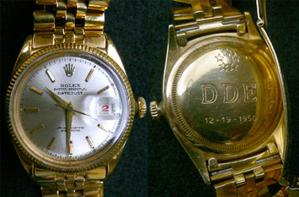 eisenhowers rolex|ikes rolex|dde rolex|ikes watch|raleigh degeer amyx|the american heritage collection|the raleigh degeer amyx collection|