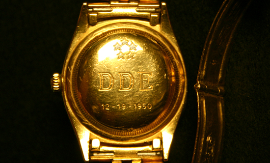 ikes rolex|eisenhowers rolex|rolex|presidential rolex|raleigh degeer amyx|the raleigh degeer amyx collection|the american heritage collection|