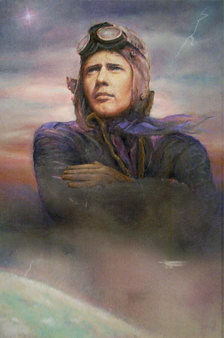 charles lindbergh|the adventurer|lucky lindy|the spirit of st. louis|raleigh degeer amyx|the american heritage collection|