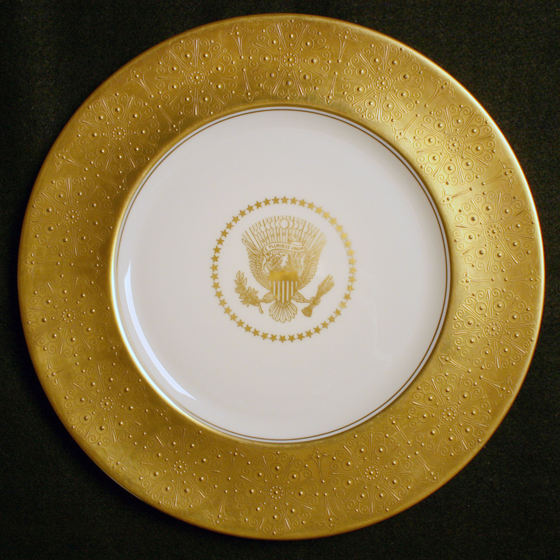 dwight eisenhower WHITE HOUSE china service plate