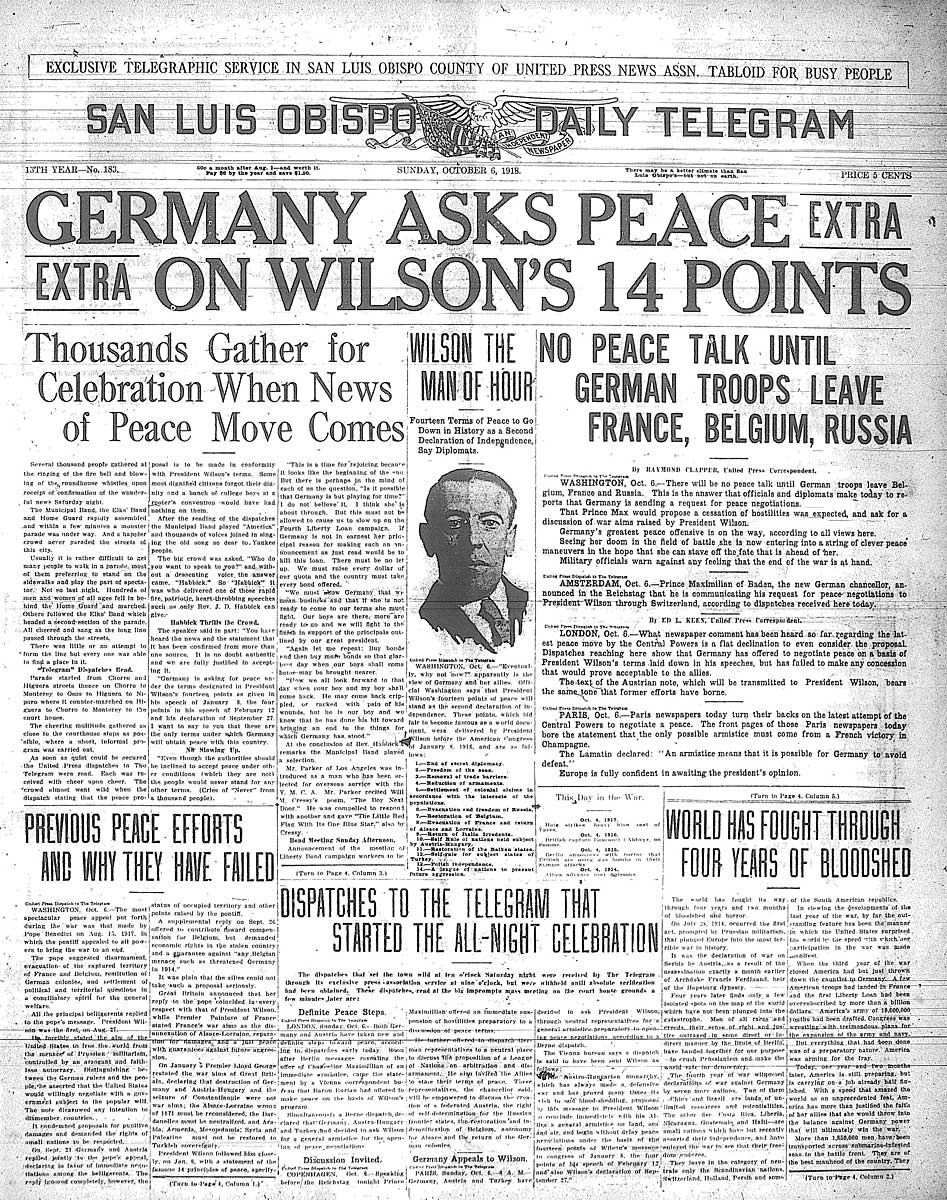 How Woodrow Wilson's 14 Points Still Impacts the World Today