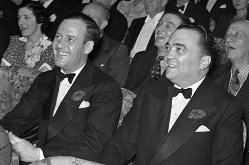 CLYDE TOLSON & J EDGAR HOOVER|THE RALEIGH DEGEER AMYX COLLECTION|THE AMERICAN HERITAGE COLLECTION|