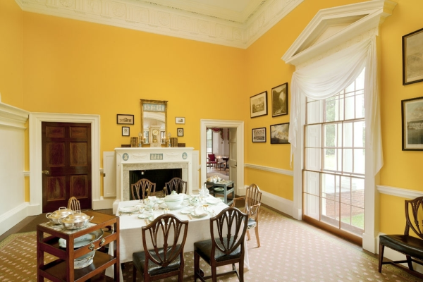 Thomas jefferson declaration of independence for Dining room 209 main monticello