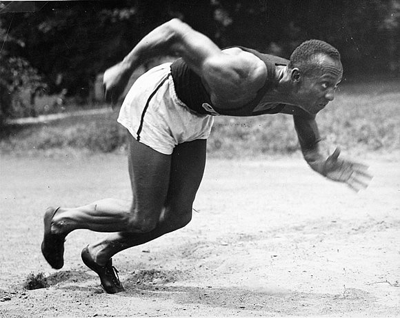 jesse owens and the olympic gold medal