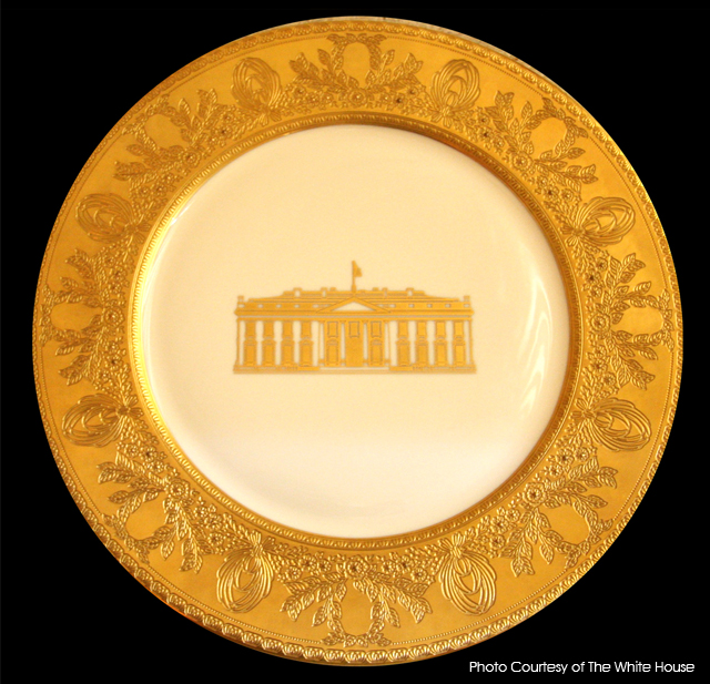 bill clinton white house china