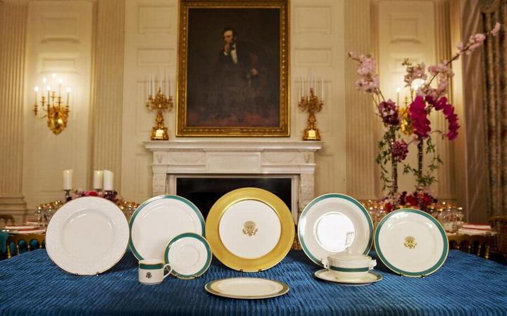 Obama White House China, Raleigh DeGeer Amyx
