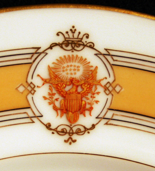 u.s. grant white house china