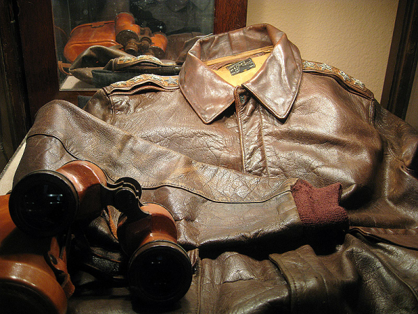 ike's ww11 leather jacket