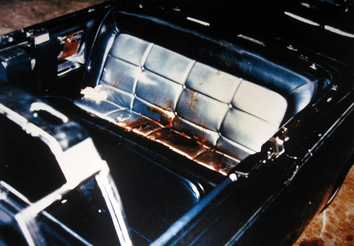 john f. kennedy assassination limousine