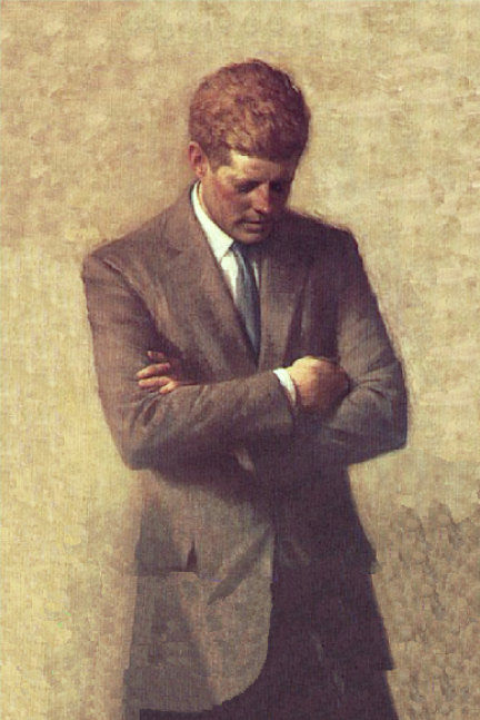 john f. kennedy and raleigh degeer amyx