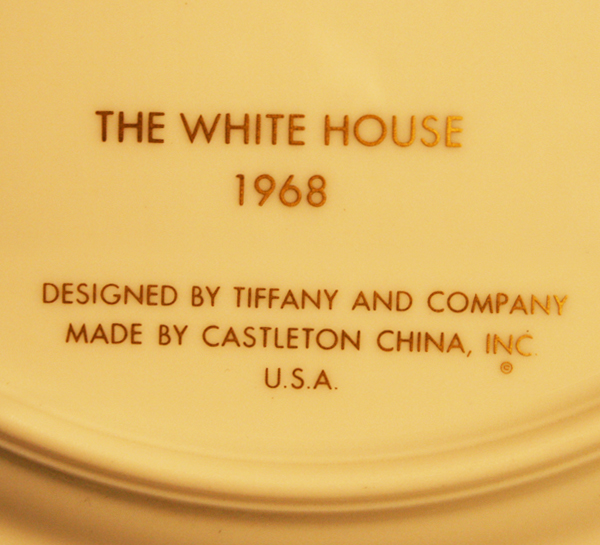 white house china of raleigh degeer amyx
