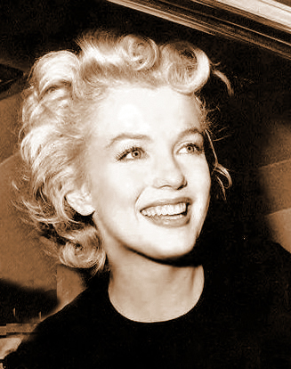MARILYN MONROE SEPIA PHOTO