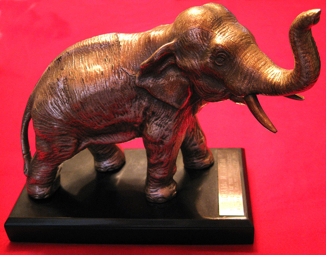 RICHARD NIXON ELEPHANT GOP|THE RALEIGH DEGEER AMYX COLLECTION|THEAMERICAN HERITAGE COLLECTION|