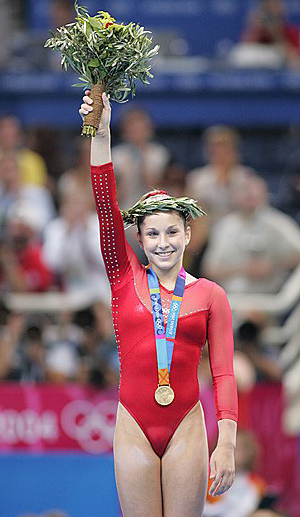 carly patterson|gold medal 2004|athens greece olympics|the raleigh degeer amyx collection|the american heritage collection|