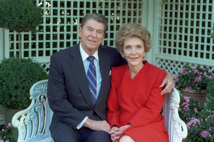 THE REAGANS|REAGANS|RONALD AND NANCY REAGAN|
