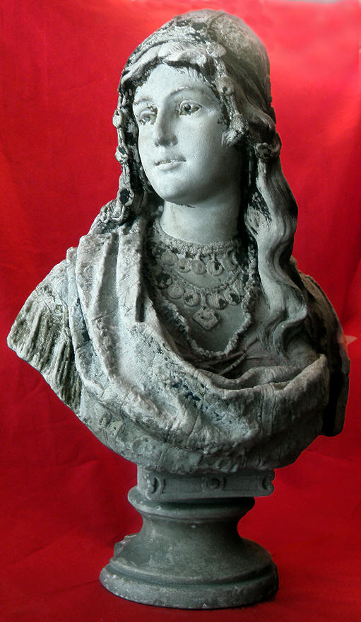 NOBLEWOMAN|EARLY 19TH CENTURY SCULPTURE|MEDITERRANIAN SCULPTURE|THE RALEIGH DEGEER AMYX COLLECTION|THE AMERICAN HERITAGE COLLECTION|