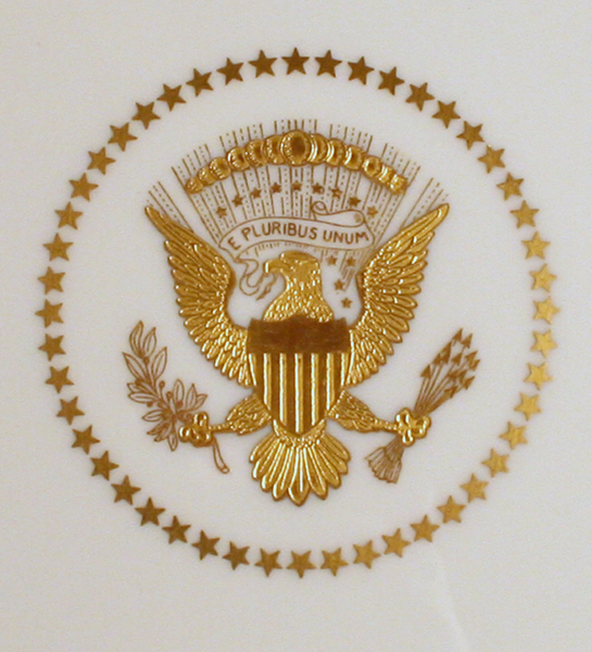 presidential seal truman white house china