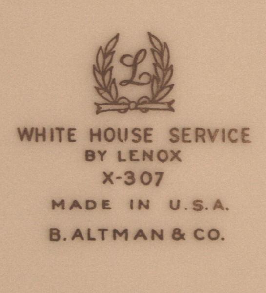 truman white house china|raleigh degeer amyx
