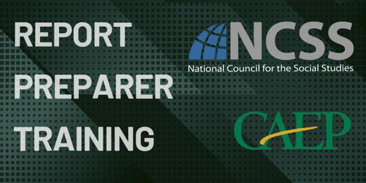 NCSS-CAEP-SPA-Report-Preparer-Training-Banner