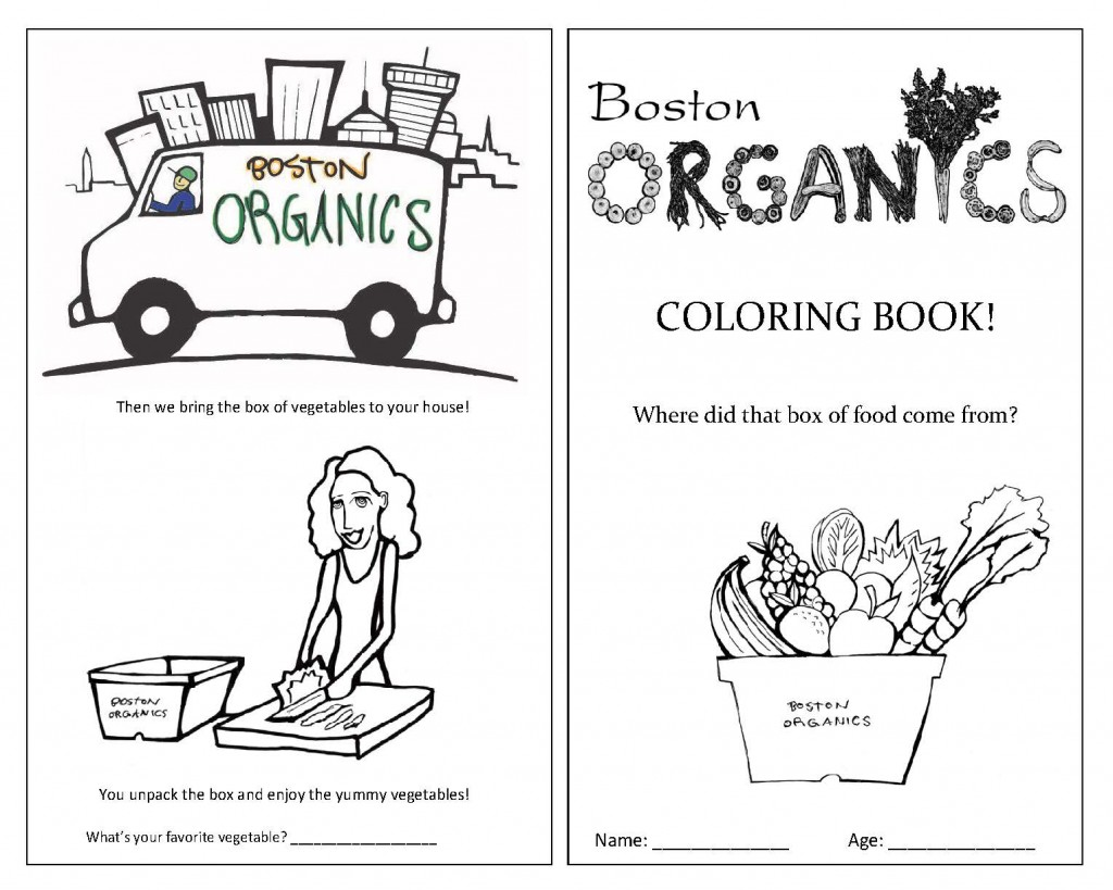 Page 1 Of Coloring Book