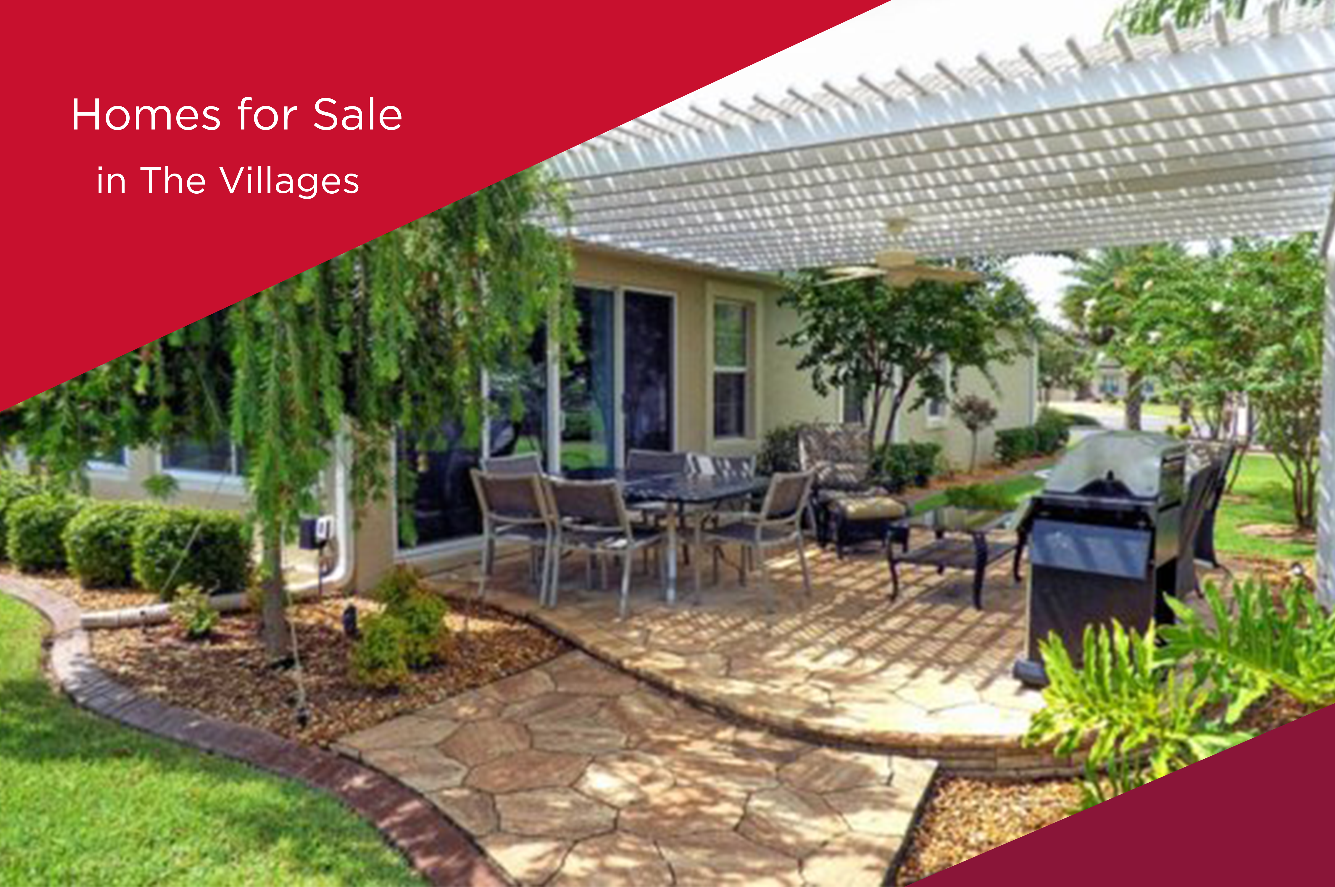 3 fetching homes for sale in The Villages FL. Choices! Choices!