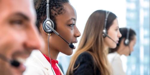 U-S-based call center