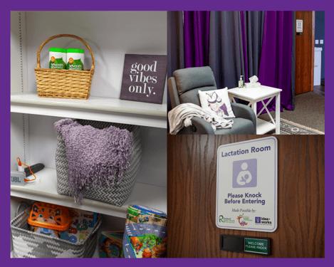 Richland Public Health Awards Idea+Works With Lactation Room