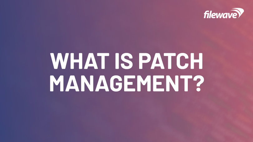 What is patch management?
