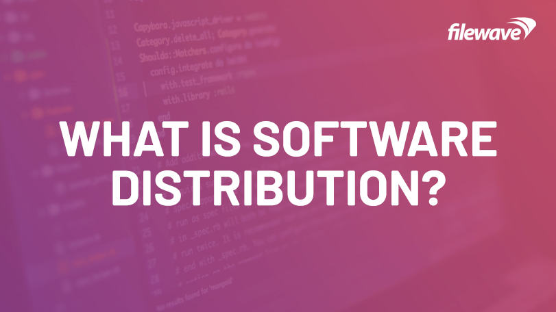 what is software distribution?