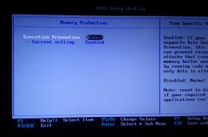 BIOS Settings for Hyper-V Role in Windows 8 on Lenovo W-Series