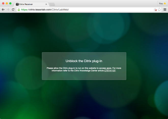 Citrix Access via Chrome is Broken and How to Fix it