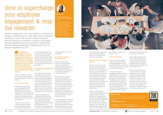 XU Magazine - Issue 21 - Appogee HR