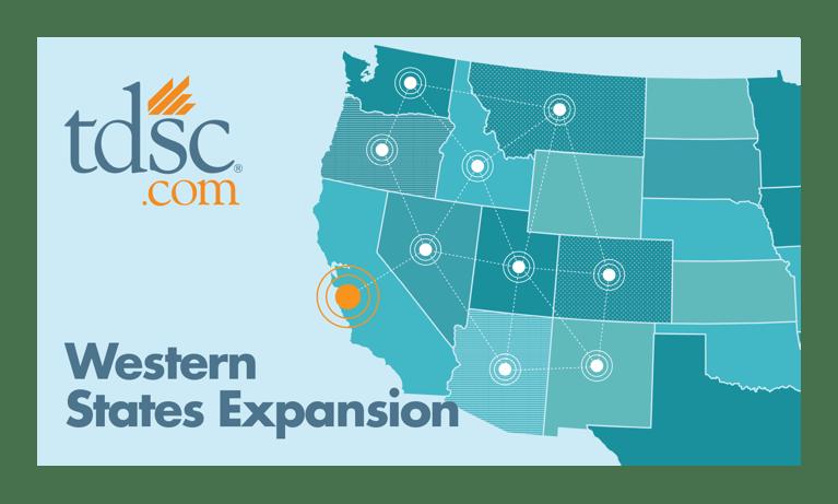 TDSC Western-states expansion gains media coverage