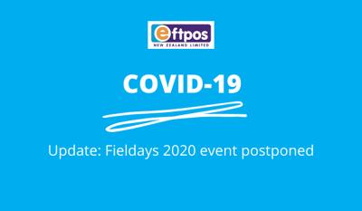 Fieldays 2020 Postponed