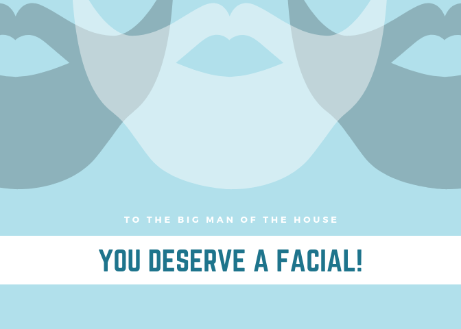 MISCONCEPTION #3- ONLY WOMEN NEED AND WANT FACIALS