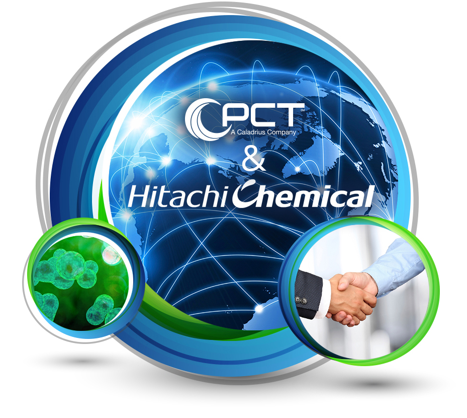 PCT & Hitachi Chemical Collaboration