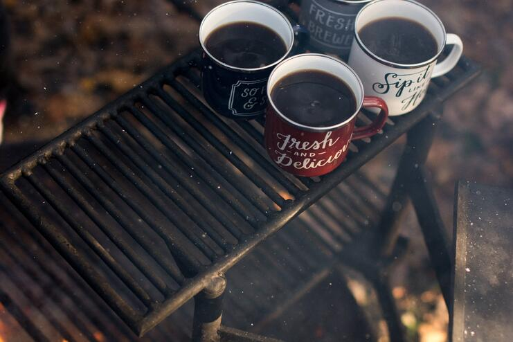 4 Yummy Campfire Hot Drinks to Make on Your Glamping Break - Main Image