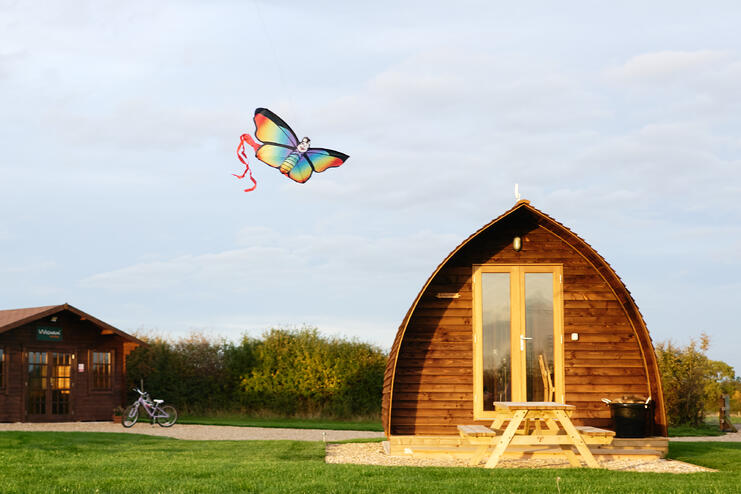 What On Earth Is A Camping Pod? - Your Guide to Glamping - Main Image