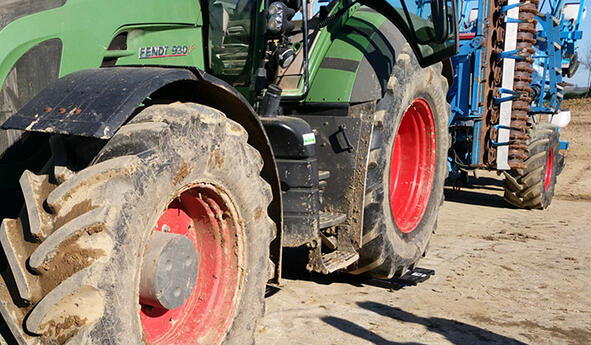 How and why to ballast your tractor tyres or agricultural tyres