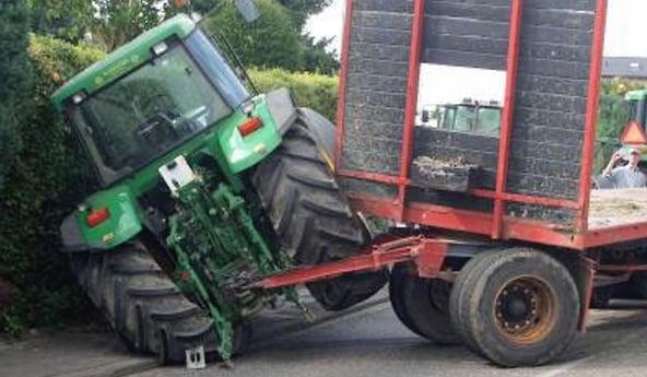 pneu de tracteur capacité de freinage