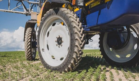 Un bon pneu agricole: la meilleure garantie de stabilité du pulvé