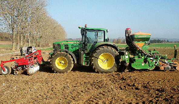 What is the right load distribution for my tractor tyres?