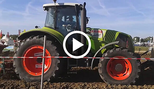 Driving test: Bridgestone VT-TRACTOR technological agricultural tyre