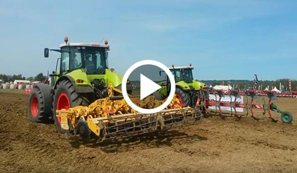 Test pneu agricole MAXI TRACTION Firestone & pneu VT-TRACTOR Bridgestone