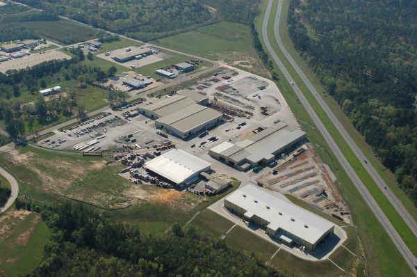 Aerial view of our plant in Pineville, LA